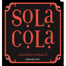 Sola Cola™ Cannabis-Infused Soft Drink 12oz