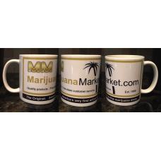 Marijuana Market™ Coffee Cup